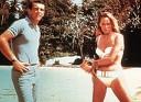 Acceptatie bikini: James Bond en Ursula Andress in een beugelbikini